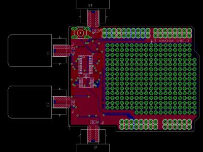 Arduino Nunchuk Shield [130267-I]