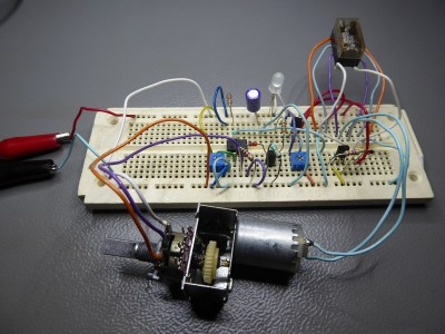 Mechanical LED fader