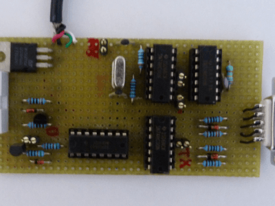 Programmer via RS232 the module Bluetooth BLE112 without CC-DEBUGGER