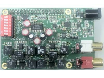 Audio DAC for RPi - Networked Audio Player using Volumio