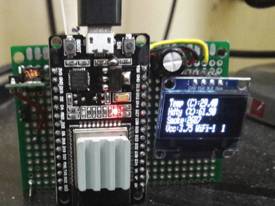 ESP32 thingspeak & find your network , connect and upload !