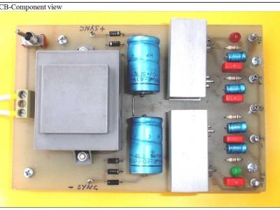 Quad Voltage Output, low Budget Euro-Card Size PSU