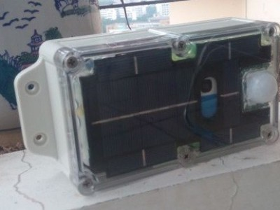 Outdoor Solar/Wind Wireless Wifi/3G Webcam &  Wifi hotspot in option: