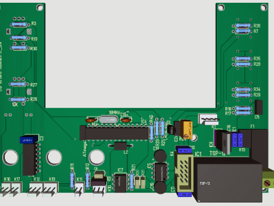 User Interface for Unilab2 Power Supply