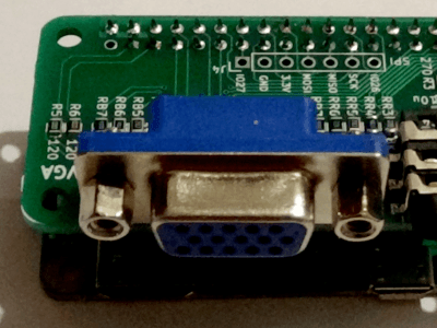 VGA & audio interface for Raspberry Pi Zéro