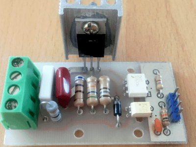 How to build a digital 220V AC dimmer [using Arduino]