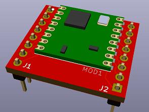 LoRa RFM95(w) Breakoutboard