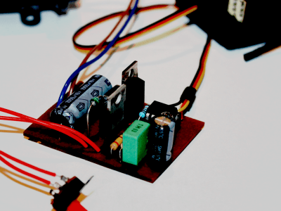 DC motor speed controller for RC models