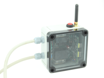 LoRa-controlled switch with state feedback