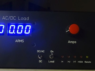 Electronic load for DC and AC