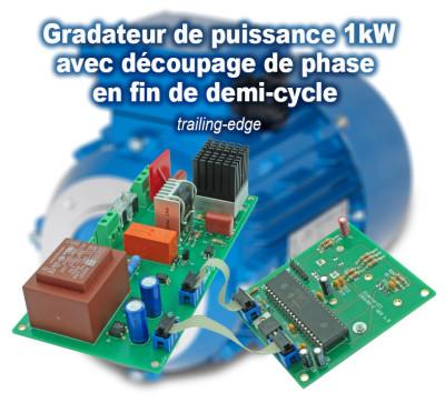 gradateur de puissance 1 kW