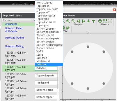 eurocircuits buildup selector