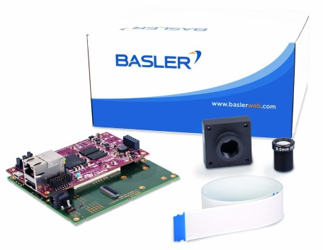 Basler Dart BCON for LVDS development kit