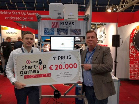 Elektor start-up games Arkite first prize winner