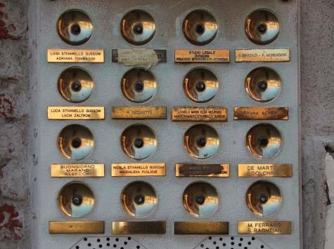 doorbell panel