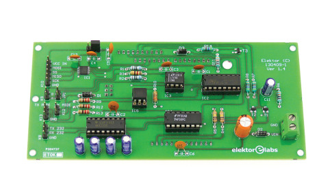 platino serial bus tester add-on board