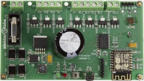 Elektor Pinball Clock Board