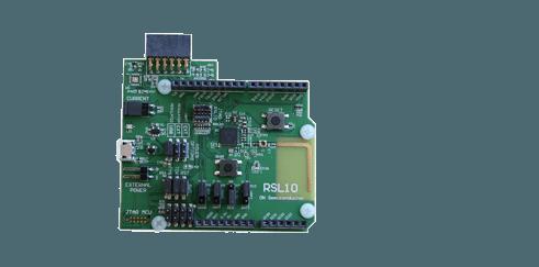ON Semiconductor Radio SoC Evaluation Board + Multi Sensor Board: