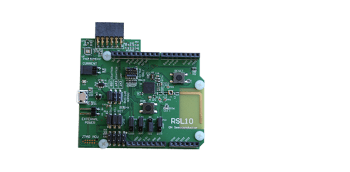 ON Semiconductor Radio SoC Evaluation Board + Multi Sensor Board​: