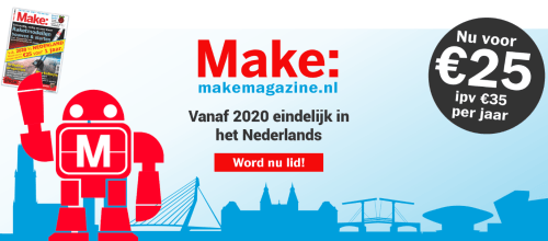Make: Magazine (Dutch) for only €25