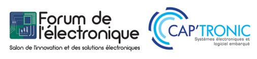 logos Forum de l'électronique & CAP'TRONIC