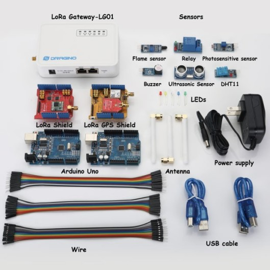 Dragino LoRa IoT Kit