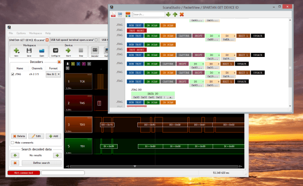 jtag decoder screenshot