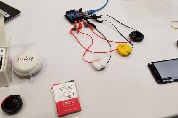 Pokit Meter at Maker Faire Bay Area