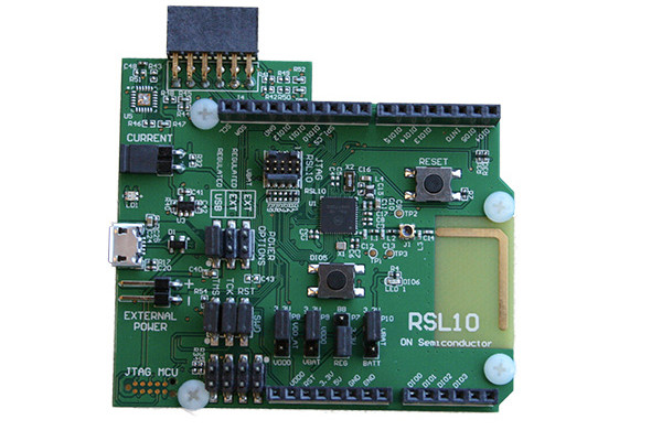 ON Semiconductor Radio SoC evaluation board