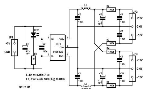 Differential Probe Power Supply | Elektor Magazine