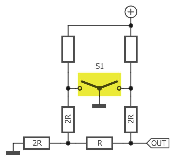 2-bit rotary encoder