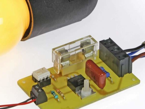 Electrically Safe LED-to-Lamp Converter