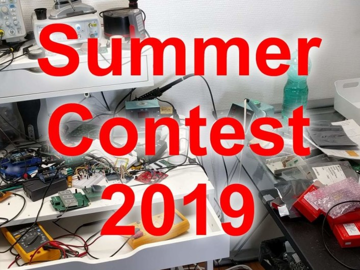 Elektor Labs Summer Contest 2019 –10 Days Left To Show Us Your Home Lab