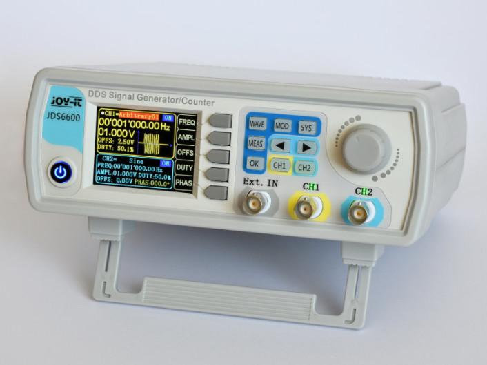 Review: DDS-Funktionsgenerator JOY-iT JDS6600