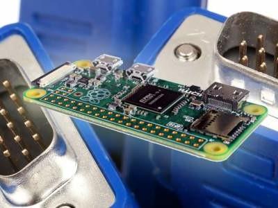 VGA- und Audio-Schnittstellen für Raspberry Pi Zero