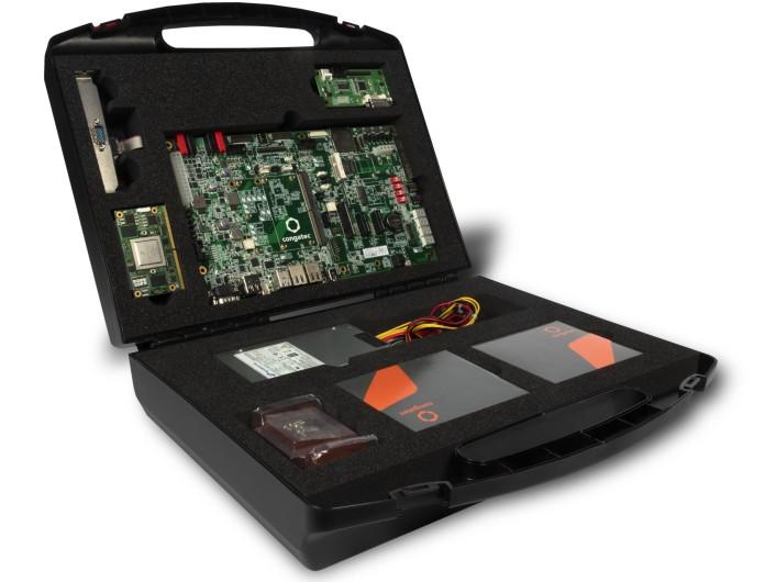 Congatec stellt SMARC 2.0 Schnellstarter-Kit für NXP i.MX 8 Designs vor