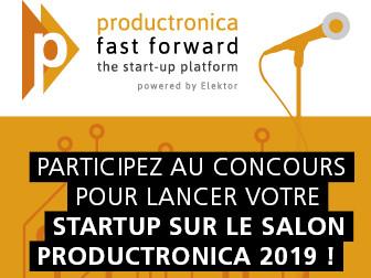Placez votre startup en pole position pour le concours Fast Forward productronica 2019