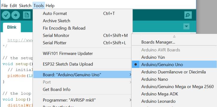 Arduino IDE add board