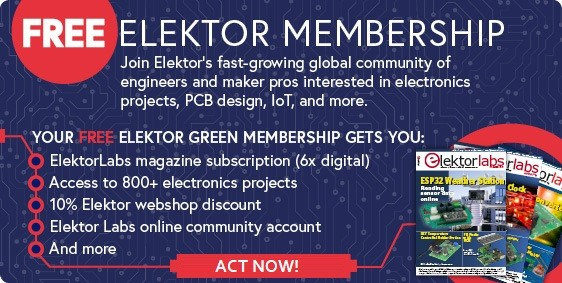 SPECIAL OFFER: Free Elektor Green Membership (And More