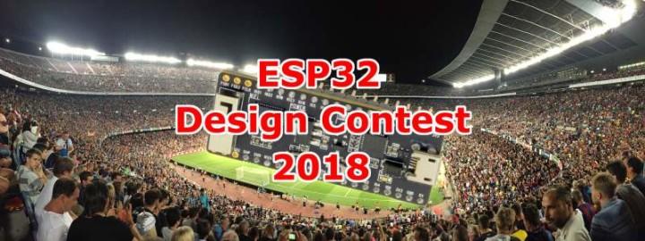 ESP32 Design Contest 2018