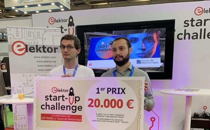elektor startup challenge paris 2019 UniSwarm