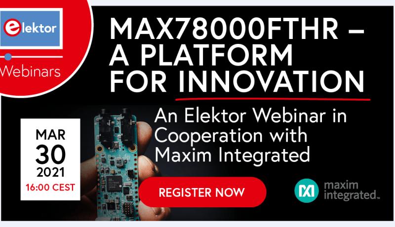 Webinar: MAX78000FTHR — A Platform for Innovation