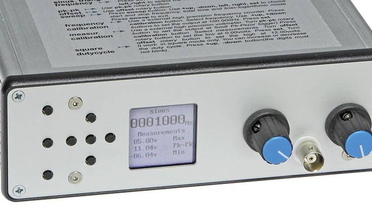 Free Back Article: DDS Function Generator   Elektor Magazine