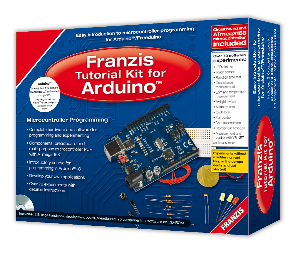 Tutorial Kit For Arduino Is Elektor Outlet Scoop Of The Week Introduction To Electronic Components Magazine