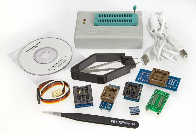 Review: MiniPro TL866A programmer - page 2 | Elektor Magazine