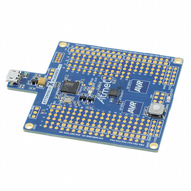 1 X ATTINY817-XMINI Dev.kit Microchip AVR; Family ATTINY817 ATtiny; Comp