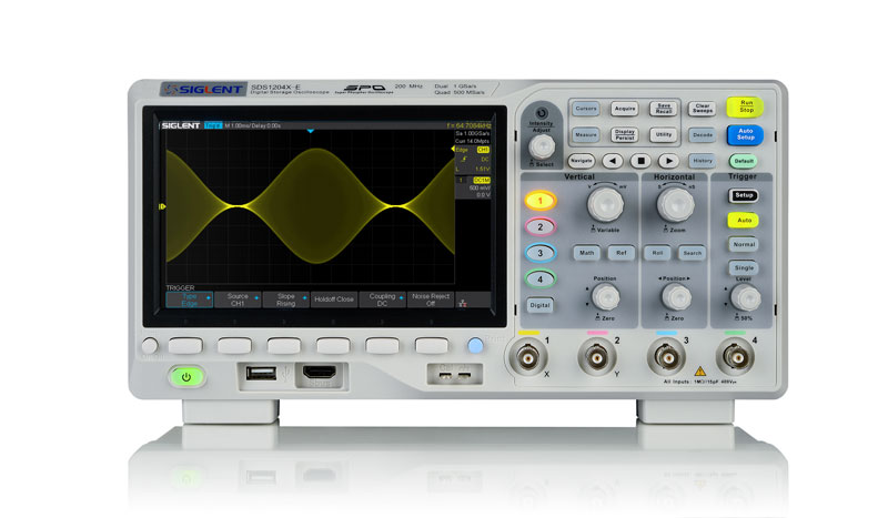 New 100/200 MHz Super Phosphor Oscilloscope