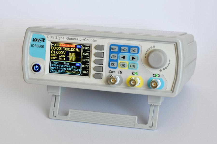 JOY-iT JDS6600 DDS Signal Generator | Elektor Magazine