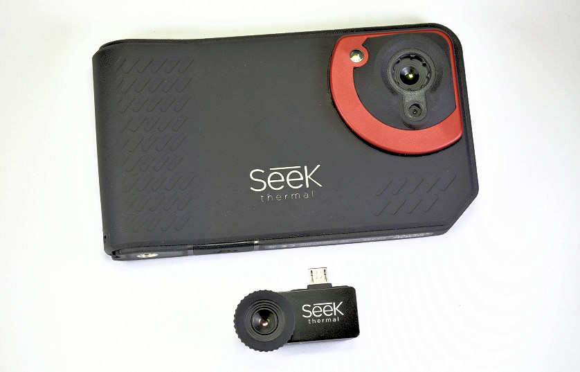 Two Thermal Imaging Cameras Compared