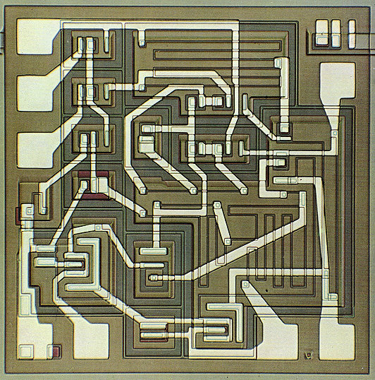 µA709 high-performance op-amp (1965)